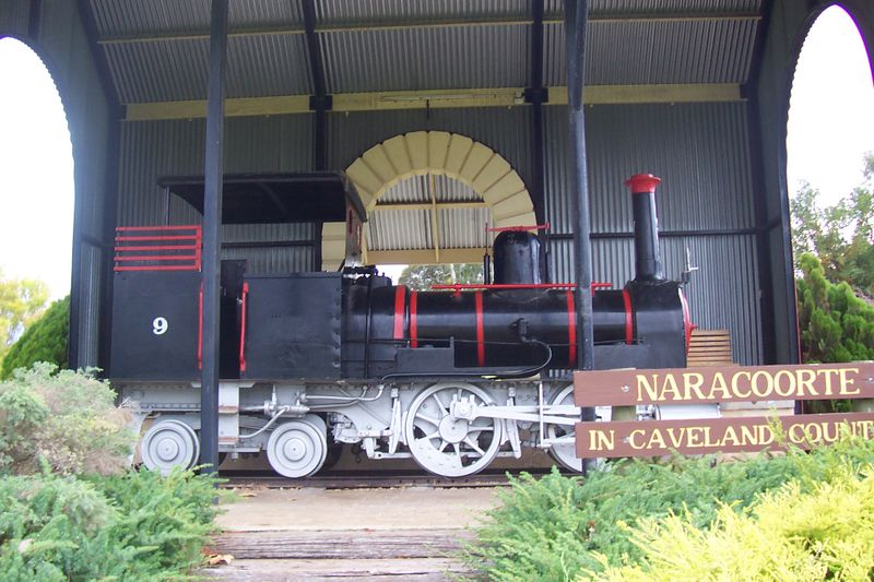 A historic locomotive in a park in Naracoorte.jpg