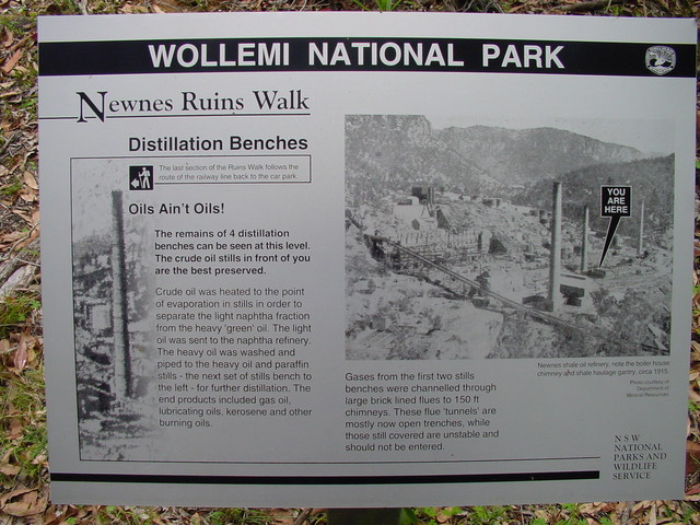 National Parks and Wildlife sign at Newnes.jpg